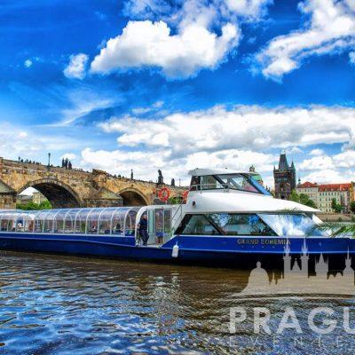 Unique Prague Venue - Grand Bohemia Boat 1