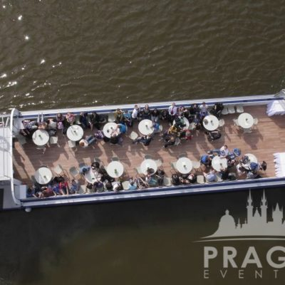 Unique Prague Venue - Grand Bohemia Boat 3