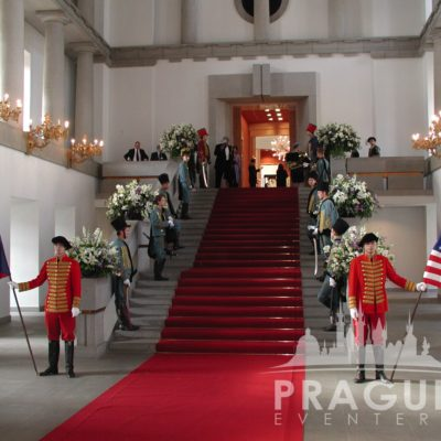 Prague gala venue - Prague Castle Spanish Hall 9