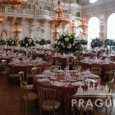 Prague gala venue - Prague Castle Spanish Hall 1