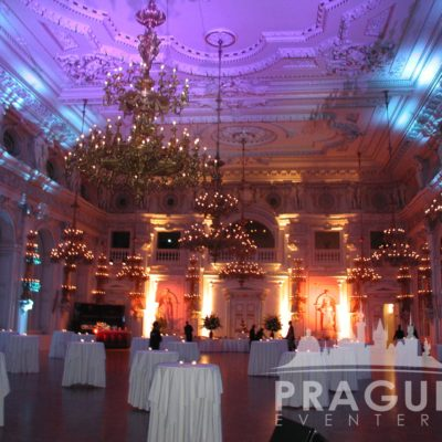 Prague gala venue - Prague Castle Spanish Hall 2