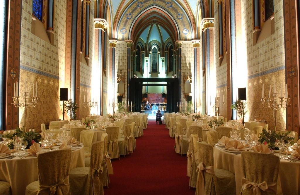 Social event venue Prague - Sacre Coeur 1