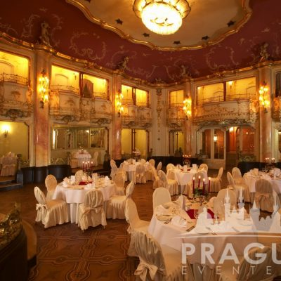 Venue Hire Prague - Boccaccio Prague Ballroom 5