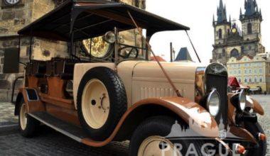 Group Transportation Prague - Antique Cars 1