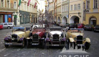 Group Transportation Prague - Antique Cars 2