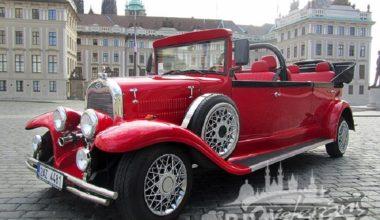 Group Transportation Prague - Antique Cars 3