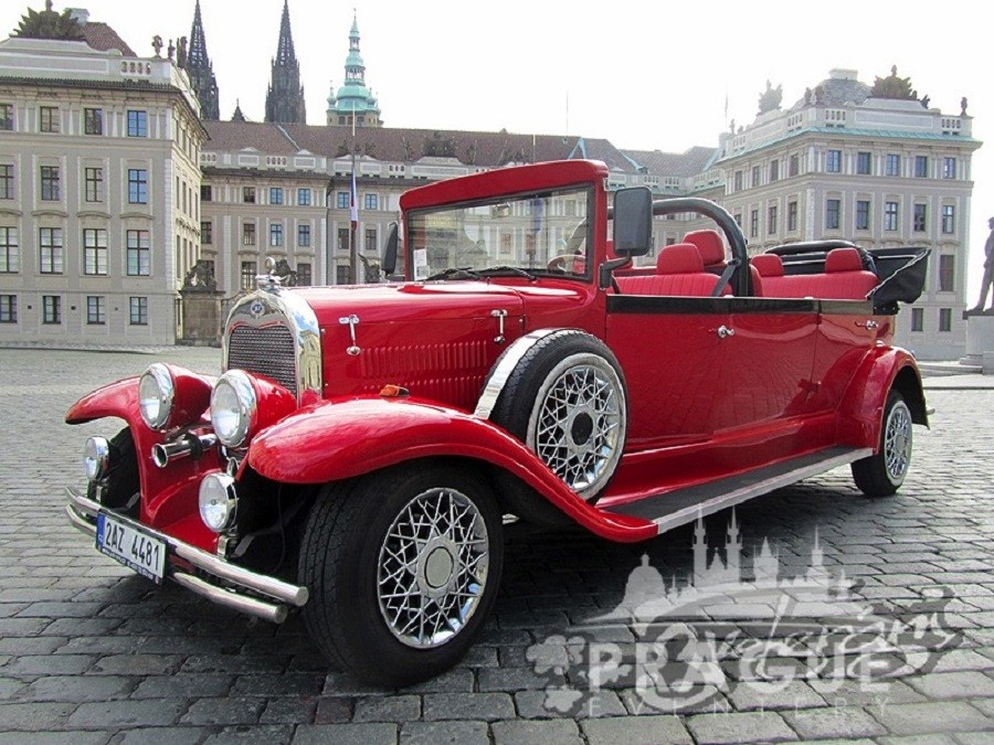 Group Transportation Prague - Antique Cars 3