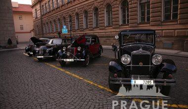 Group Transportation Prague - Antique Cars 6