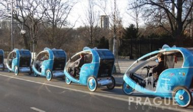 Transportation Prague - Prague Rickshaw 3