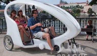 Transportation Prague - Prague Rickshaw 1