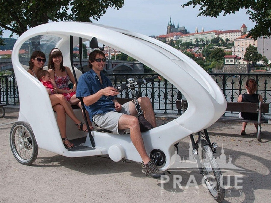 Transportation Prague - Prague Rickshaw 1