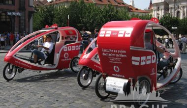 Transportation Prague - Prague Rickshaw 2