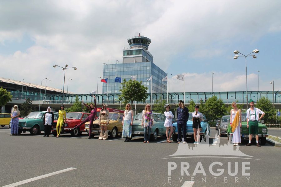 Fun Group Transport Prague - Retro Cars 1