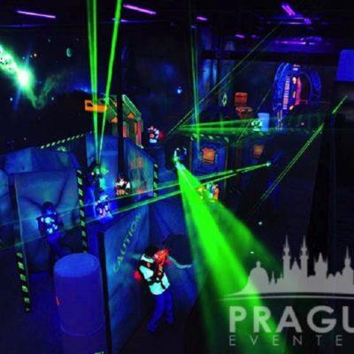 Corporate Teambuilding Prague - Laser Game 1