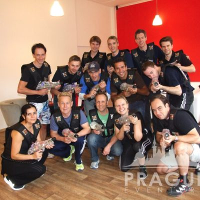 Corporate Teambuilding Prague - Laser Game 5