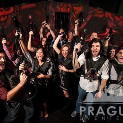 Corporate Teambuilding Prague - Laser Game 8