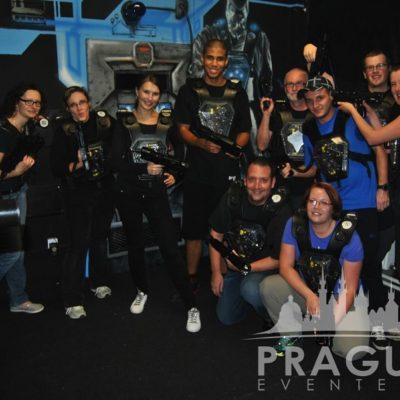 Corporate Teambuilding Prague - Laser Game 2