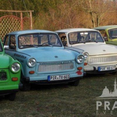 Company Teambuilding Prague - Trabant Auto Rally 2