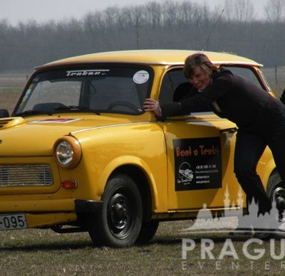Company Teambuilding Prague - Trabant Auto Rally 6