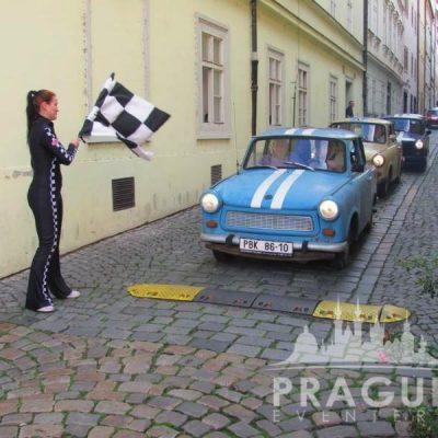 Company Teambuilding Prague - Trabant Auto Rally 5