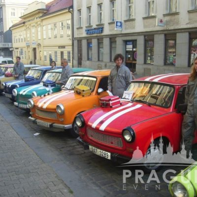 Company Teambuilding Prague - Trabant Auto Rally 4