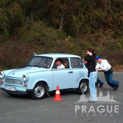 Company Teambuilding Prague - Trabant Auto Rally 3