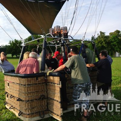 Prague Group Activities - Hot Air Balloon 4