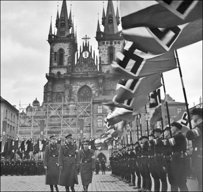 Prague under Nazi Occupation in the World War II