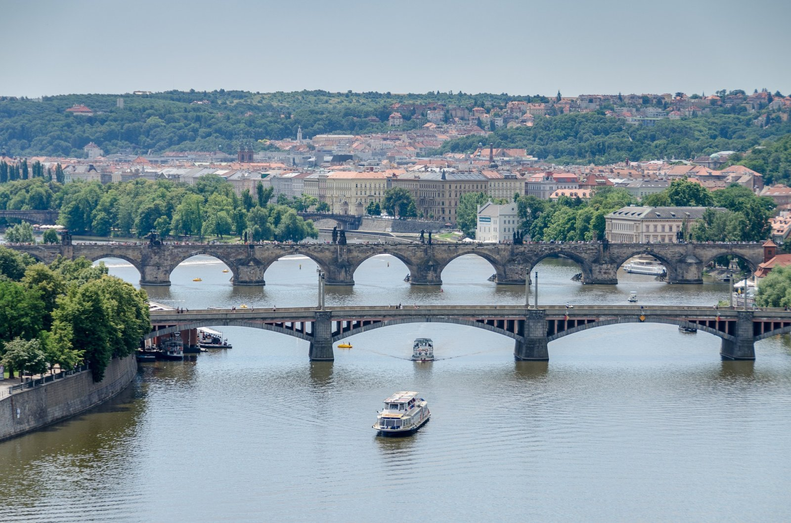 Prague River Valtva