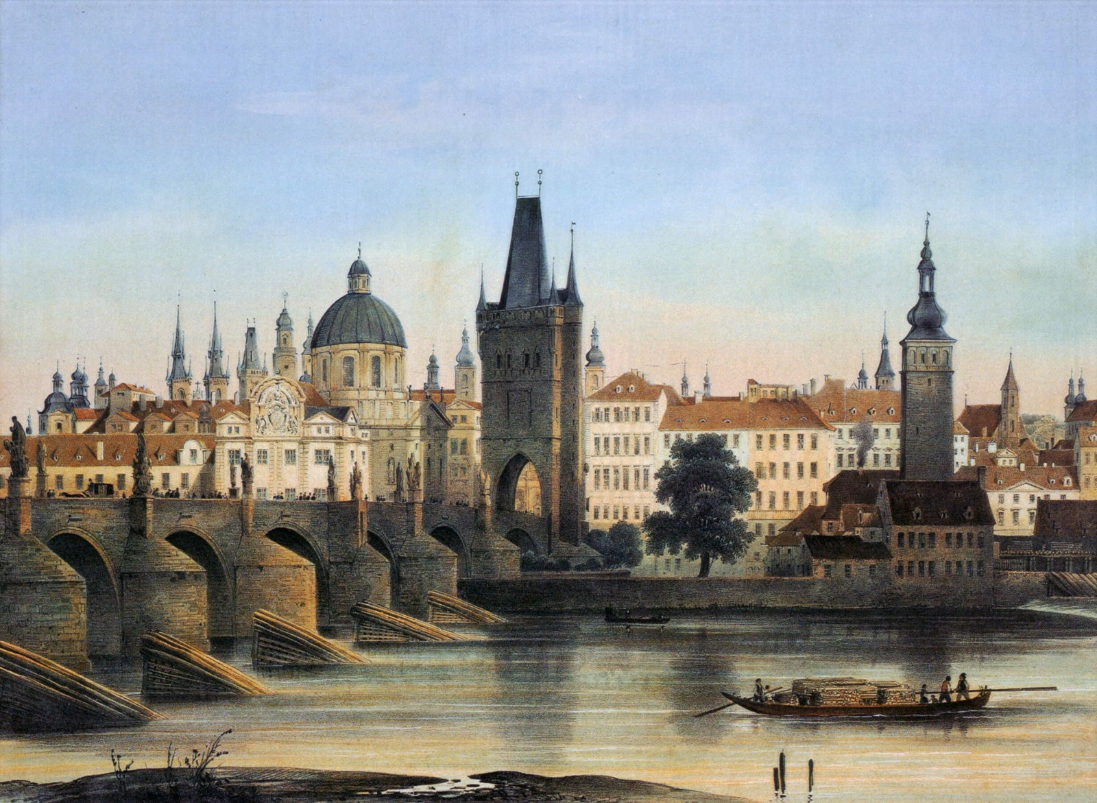 Early History of Prague, Early History of Prague, the City of a Hundred Spires