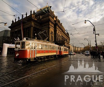 Tram-side view of the city of Prague - Prague Eventery