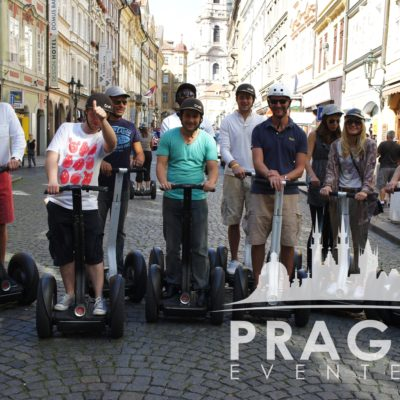 People riding segway on the street - University Of Plymouth