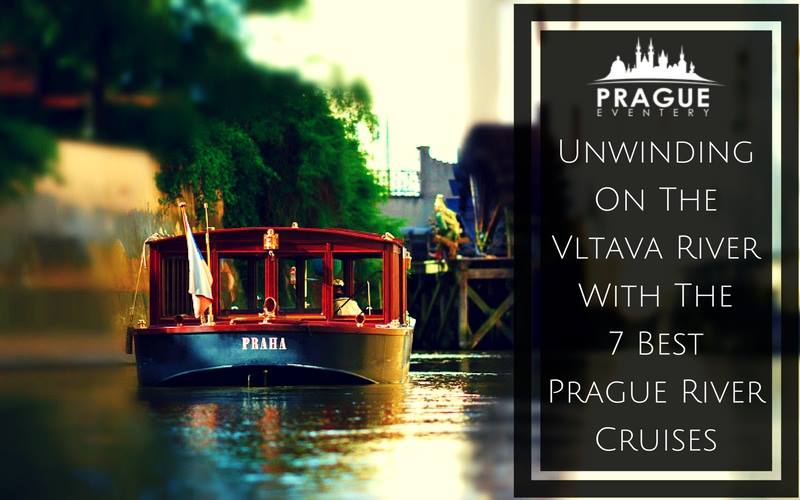 Prague river cruises on Vltava river