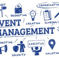 Event management company clipart