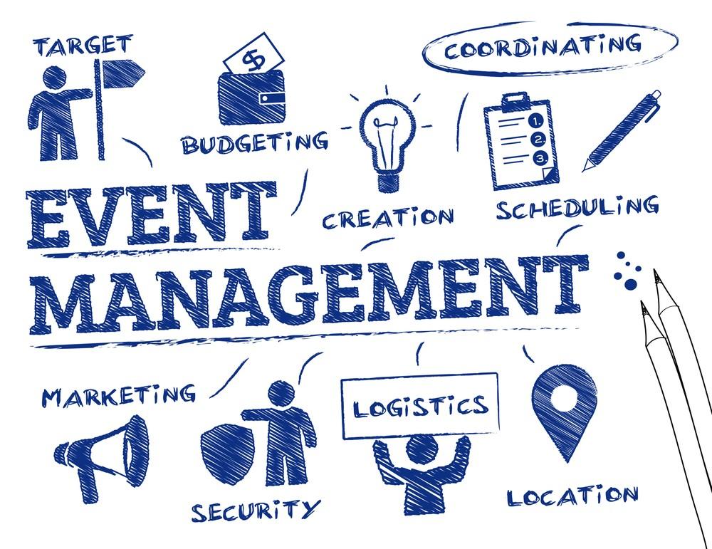 Event management company clipart